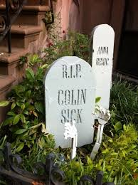 Funny Halloween Tombstones For Sale by Health Controversy Is This Halloween Tombstone Funny Or Offensive