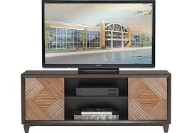 Braham Brown Fruitwood 60 in Console TV Consoles Light Wood