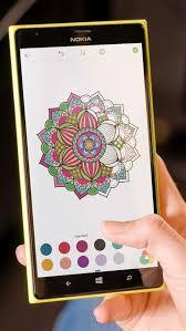Screenshot Mandala Coloring Pages