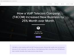 T4COM Is A Class Leading VoIP And SIP Trunking Provider Offering ...