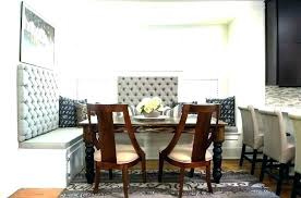 Booth Dining Table For Kitchen Seating Booths Image Of