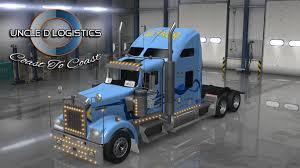 100 Werner Trucking Phone Number Uncle D Logistics Kenworth W900 Skin ATS Mods
