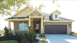 Beazer Homes Floor Plans Florida by Capri Home Plan In Pine Creek At Canyon Lakes West Cypress Tx