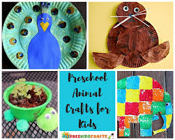 100 Preschool Animal Crafts And More