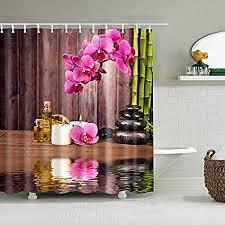 yedl spa duschvorhang bambus vorhang badezimmer duschvorhang
