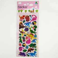 Room Decor Kids 3d Foam Stickers Animals Puffy Sticker