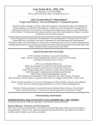 Entry Level Healthcare Administration Resume Awesome Project Manager Examples Sample Doc Pr