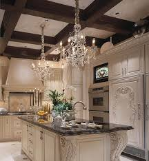 Luxury Over Kitchen Sink Lighting Ideas 2 Crystal Chandelier Lamps Undermount Light Island