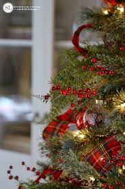 traditional red tartan plaid christmas tree 2016 michaels dream