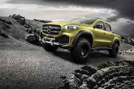Official: Mercedes-Benz Concept X-CLASS - GTspirit The Strange History Of Mercedesbenz Pickup Trucks Auto Express Mercedes G63 Amg Monster Truck At First Class Fitment Mind Over Pickup Trucks Are On The Way Core77 Mercedesbenzblog New Unimog U 4023 And 5023 2013 Gl350 Bluetec Longterm Update 3 Trend Bow Down To Arnold Schwarzeneggers Badass 1977 2018 Xclass Ute Australian Details Emerge Photos 6x6 Off Road Beach Driving Youtube Prices 2015 For Europe Autoweek Xclass Spy Photos Information By Car Magazine New Revealed In Full Dogcool Wton Expedition Camper Benz
