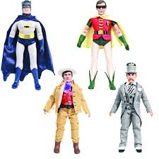 Batman 1966 Classic TV Series 8u2033 Retro Series 3 Action Figures Set