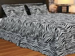 Wild Zebra Print Decor For Bedroom