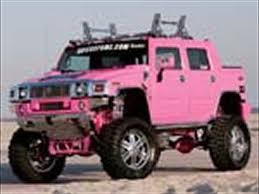 Custom Pink Hummer H2 SUT Truckin Magazine