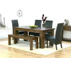 Dining Table And Bench Set Tables With Benches Room Seat Plans