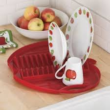 Red Apple Dish Rack From Through The Country DoorR