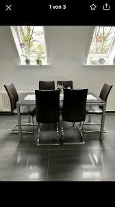 komplette wohnzimmer einrichtung 2x esstisch esstischstühle