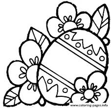 Free Easter Egg Two Coloring Pages
