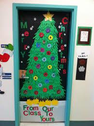 Classroom Door Christmas Decorations Ideas by Christmas Tree Door Decoration Classroom Rainbowswithinreach