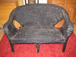 Nice Old Vintage Wicker Two Seater Settee With Cushions And Seat Pad. | In  Rowlands Castle, Hampshire | Gumtree