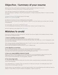 100 Great Looking Resumes Beautiful A Objective For A Resume Atclgrain