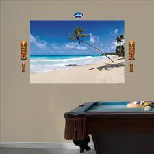 Fathead Baby Wall Decor by Amazon Com Fathead Tropical Beach Mural Graphic Wall Décor Home