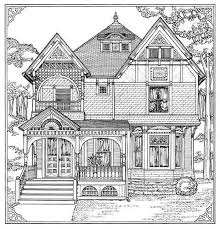 Big Houses To Color