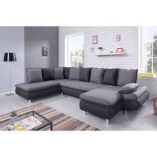 canapé gris foncé bobochic canapé nesty panoramique gris 325cm x 90cm x 203cm