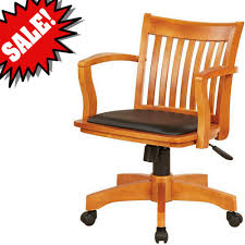 Amazon.com: Bankers Desk Chair With Arm Rests Wooden Brown With ... 90 Off Blue Upholstered Office Chair Chairs Heydon Fully Upholstered Office Chair No Arms Jk Fniture Baldridge Swivel Desk Bernie Phyls Wicker Midback Walnut Wood Conference In Black Leather Homestead Lacquered Lorry Modern Classic Beige Cedar Armrest Amazoncom Bankers With Arms Adjustable Height Mentor Office Chair Nuans Smudge Buckeye Rockers Deck With Solid Art Inc Contemporary Casters