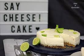 limettencheesecake in der no bake variante mit keksboden