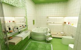 view deko ideen grün badezimmer gif