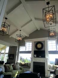 chandeliers modern chandelier for high ceiling chandelier for