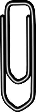 Paperclip Clip Art