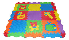 Skip Hop Foam Tiles Zoo by Baby Floor Mat Foam 36pc Soft Eva Foam Baby Children Kids Play Mat