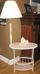 table scenic end table with built in l magazine rack floor