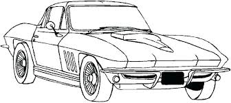 Coloring Pages Printable Mustang Page Truck For Kids Online