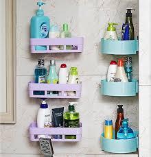 wohnzimmer free punch ing wandbehang quadrat dreieck regal badezimmer kosmetik rack kunststoff badezimmer hängende handtuch aufbewahrung sbox buy