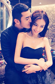 Angelababy With Huang Xiaoming