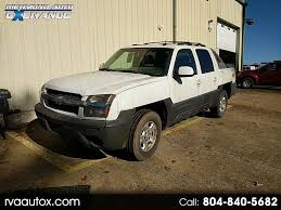 100 Trucks For Sale In Richmond Va Used 2003 Chevrolet Avalanche For In VA 23234