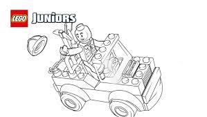 LEGOR Juniors Mini Truck Coloring Page
