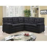 Buchannan Faux Leather Sectional Sofa by Buchannan Faux Leather Sectional Sofa With Reversible Chaise Black