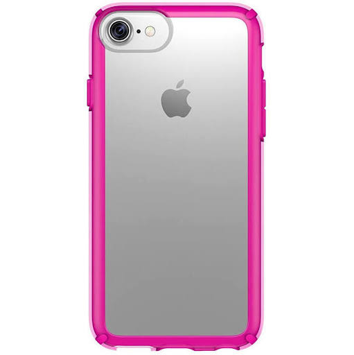 Speck 80268-5907 Gemshell iPhone 7 Case - Clear, Lipstick Pink