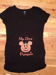 Winnie The Pooh Pumpkin by Disney Inspired Mickey Pumpkin Halloween Maternity Shirt