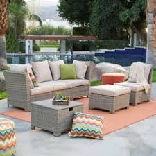 Lowes Canada Patio Sets by Shop Allen Roth Prescott 6 Piece Wicker Conversation Set At