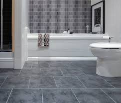 bathroom flooring pebble waterproof walnut white countertop