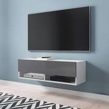 selsey tv lowboard wander tv schrank in weiß matt grau hochglanz hängend stehend 100 cm