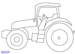 Coloriage Petit Tracteur Gratuit à Imprimer