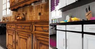 renover cuisine rustique relooking cuisine facile repeindre les meubles crédences sol