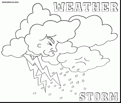 Weather Coloring Pages Latest Free Printable 11405 Pictures
