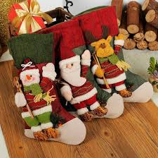 Vintage Christmas Stockings Filler Artificial Tree Ornaments Decorations For Home Xmas Cheap Sale From