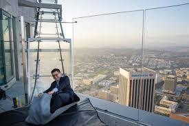 engineering expert describes skyslide structure on la s u s bank